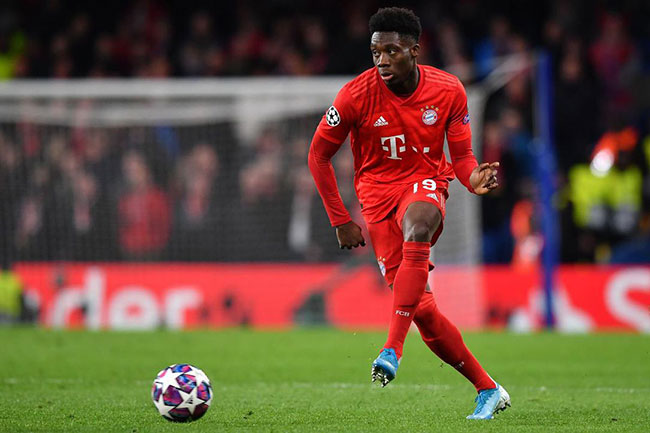 Alphonso Davies on Golden Boy shortlist