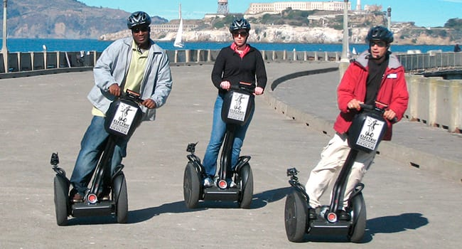 Segway in San Francisco