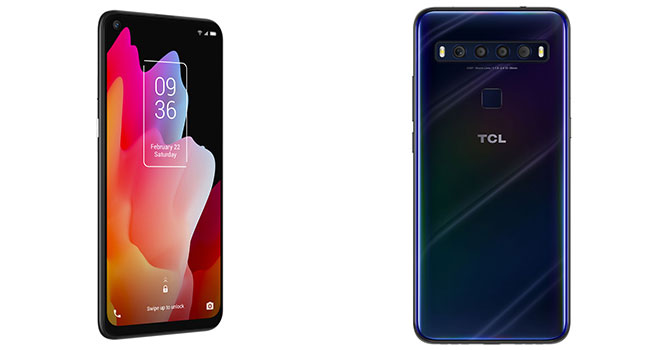 TCL 10L Mariana Blue smart phone