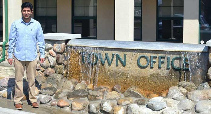 Nicklas Baran tony Plain Town Office