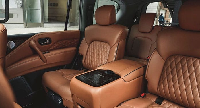 Infiniti QX80 interior