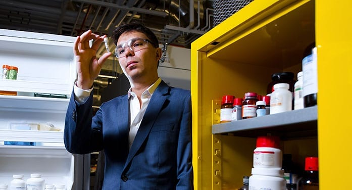 chemistry professor and 48Hour Discovery founder Ratmir Derda