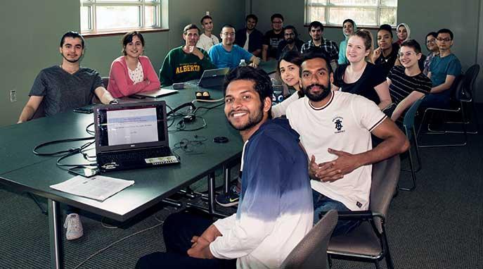 AI tech students
