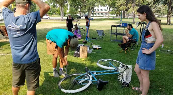 Connectour bicycle clinic