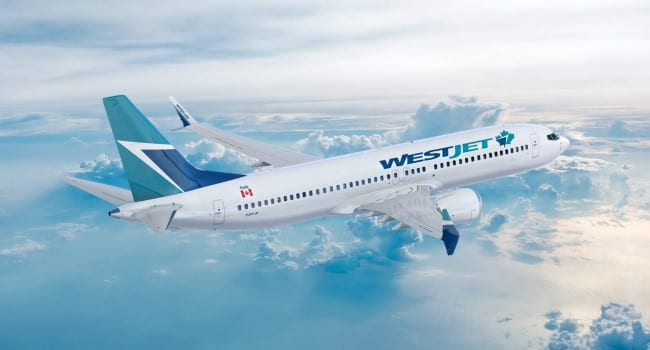 WestJet airplane travel cancellation insurance