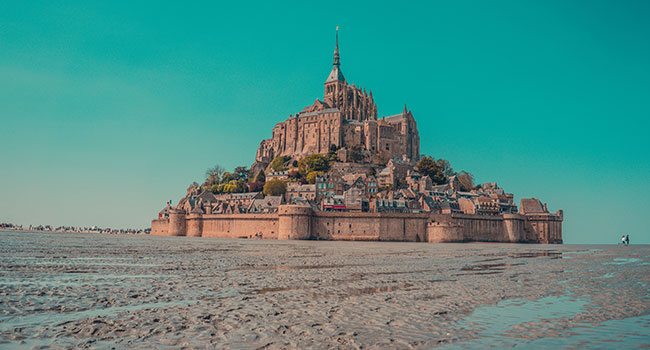 Mont Saint Michel, Normandy