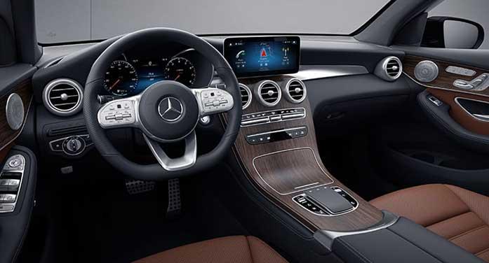 Mercedes Benz GLC 300 Interior car suv