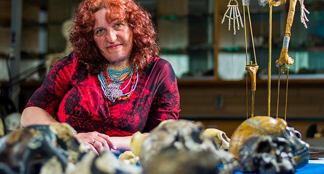 forensic anthropology Pamela Mayne Correia