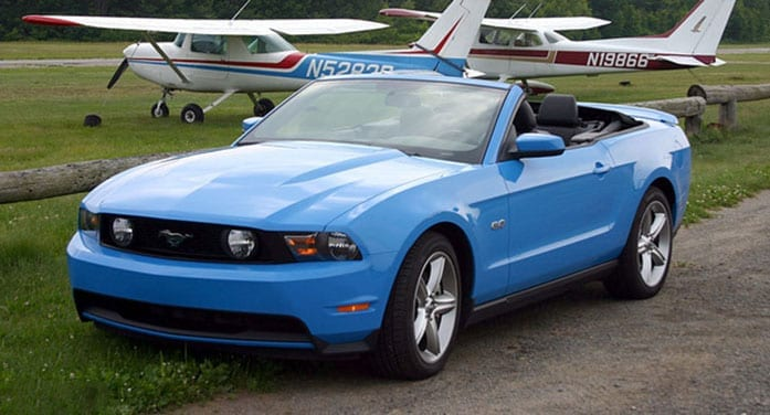 2011 Ford Mustang convertible