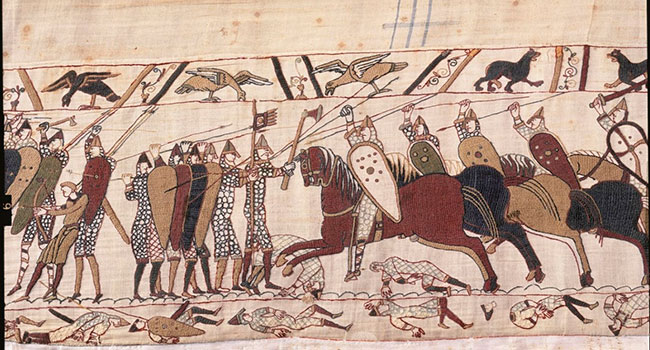 Bayeux Tapestry in Normandy