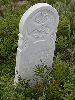 Hebron gravestone Canadian history culture