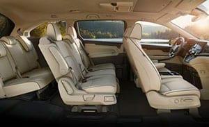 Toyota Sienna interior