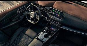 Nissan Rogue 2021 interier