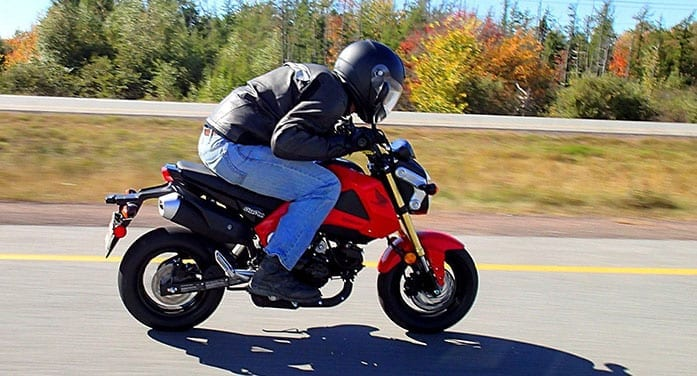 honda grom bike scooter